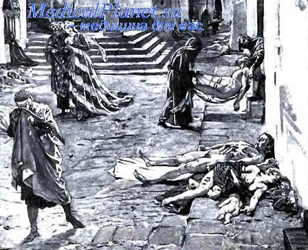 Картина эпидемии чумы