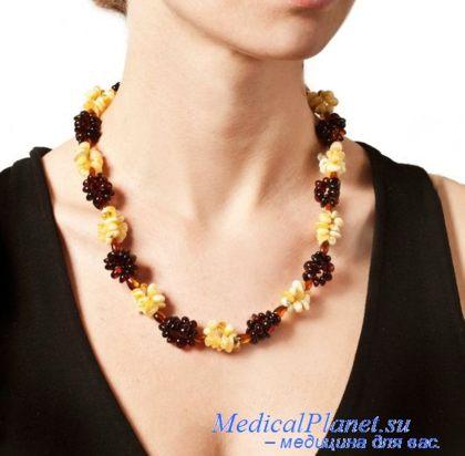 янтарь для женского здоровья