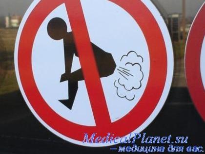метеоризм неприятный запах изо рта