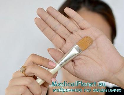 методы нанесения тонального крема