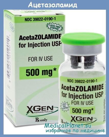 ацетазоламид